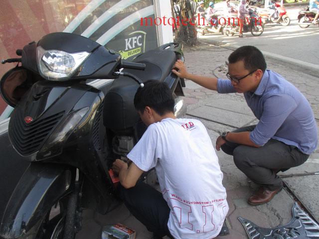 cứu hộ xe máy sh tại hà nội