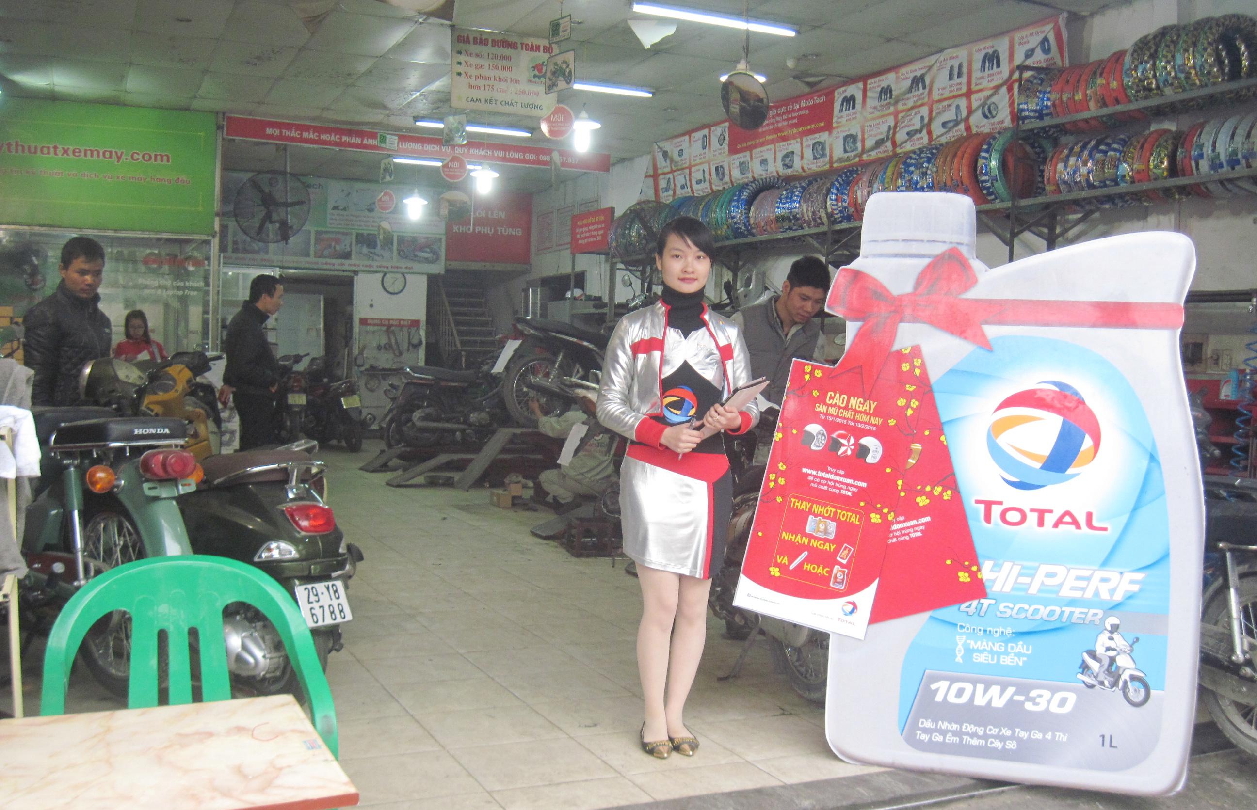 Phụ tùng xe máy mototech