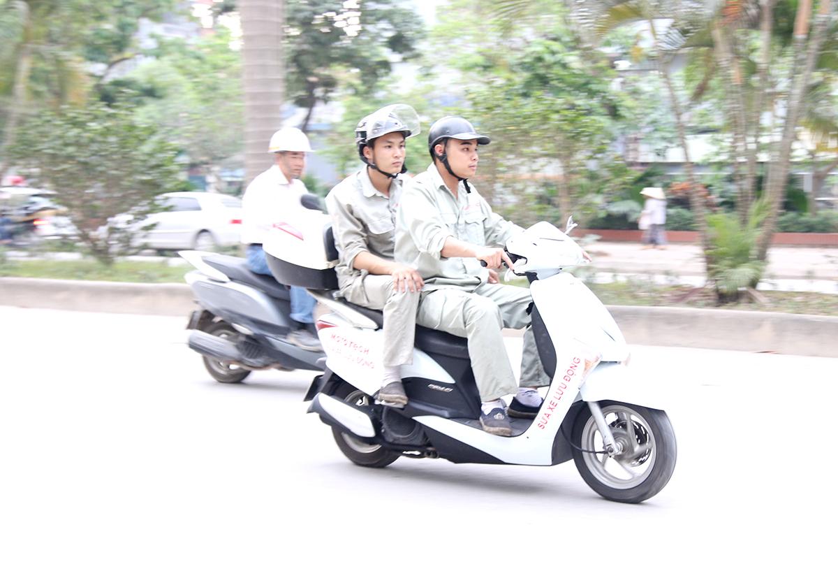 sửa xe lưu động mototech