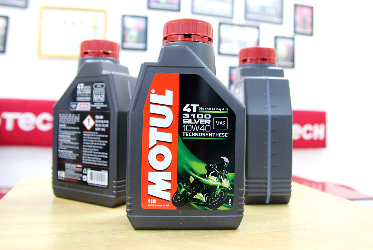 nhớt motul silver cho exciter