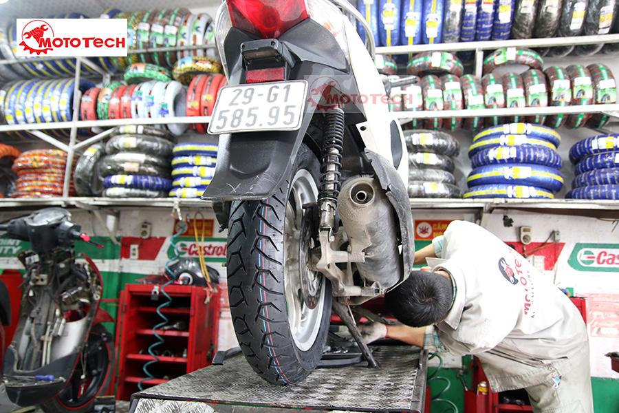 lốp xe Sh pirelli