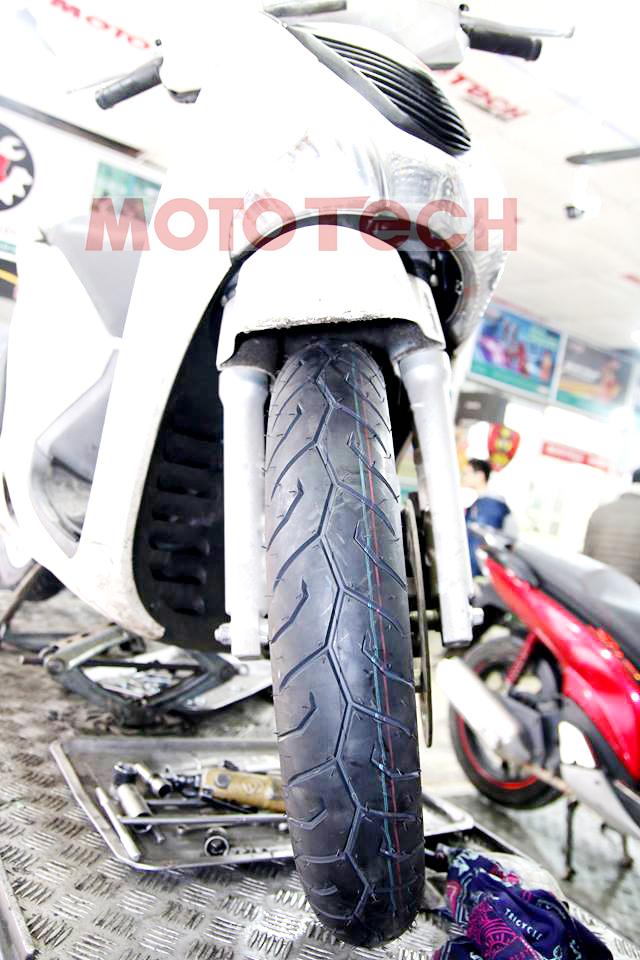 lốp trước xe Sh Pirelli
