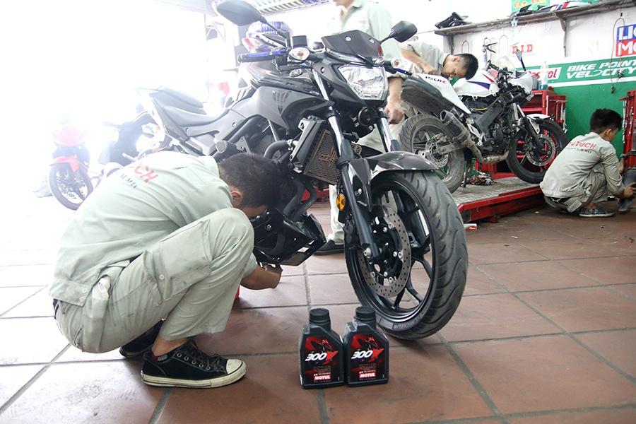 sửa xe pkl mototech