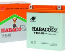 Ắc quy xe Angle Habaco