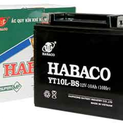 Ắc quy xe Shark Habaco