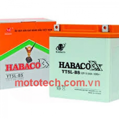 Ắc quy xe Star Habaco