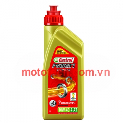 Dầu máy xe Saphire Castrol Power 1 Scooter