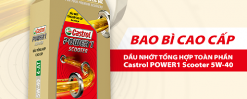 Dầu nhớt Castrol Power1 Scooter 5W40