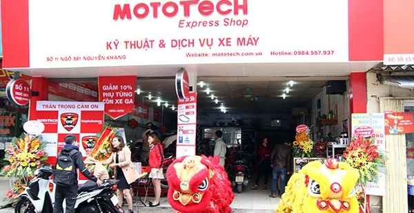 Mototech Sửa chữa bảo dưỡng và phân phối phụ tùng xe máy uy tín