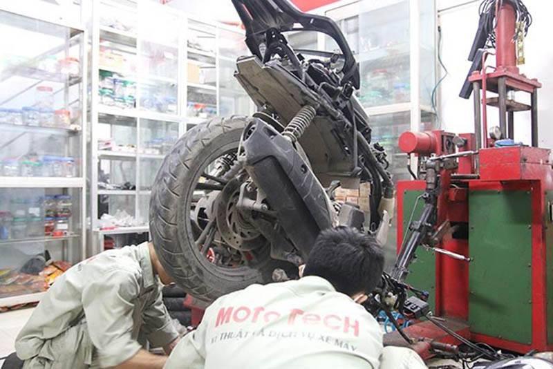 sửa xe tai nạn