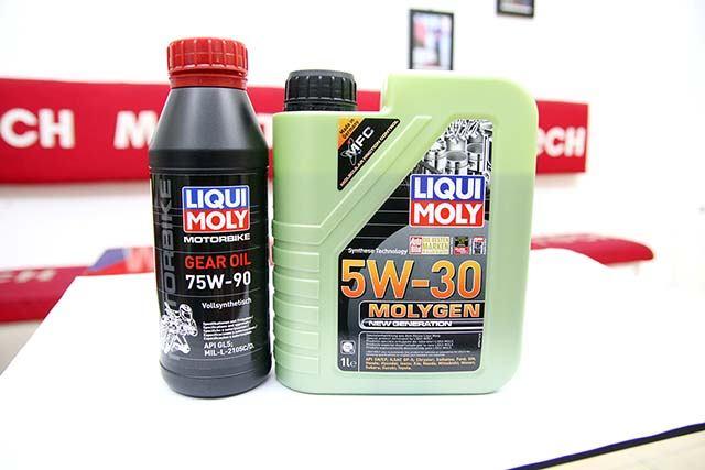 nhớt liqui moly molygen 5w30