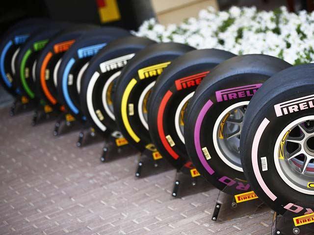 lốp xe pirelli trên đường đua
