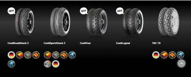lốp xe máy continental