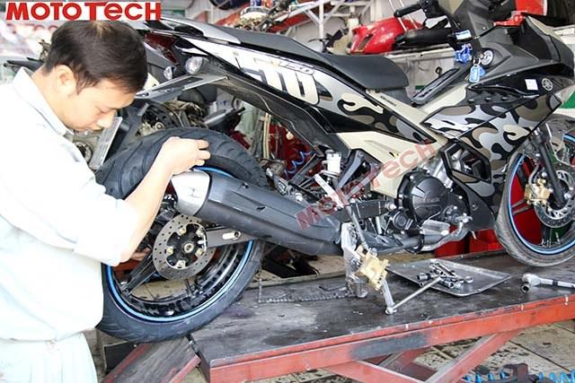 bảo trì xe máy yamaha